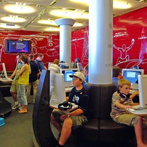 Интернет-кафе Красного Ткача