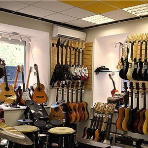 Музыкальные магазины Красного Ткача